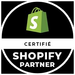 Partenaire Shopify certifié